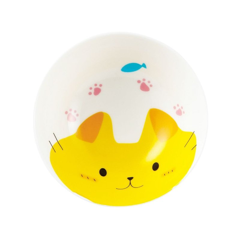 Japanese sunart bowl - joy cat