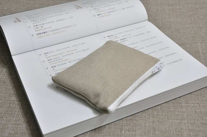 ENDURE/Linen Light Khaki Coin Purse