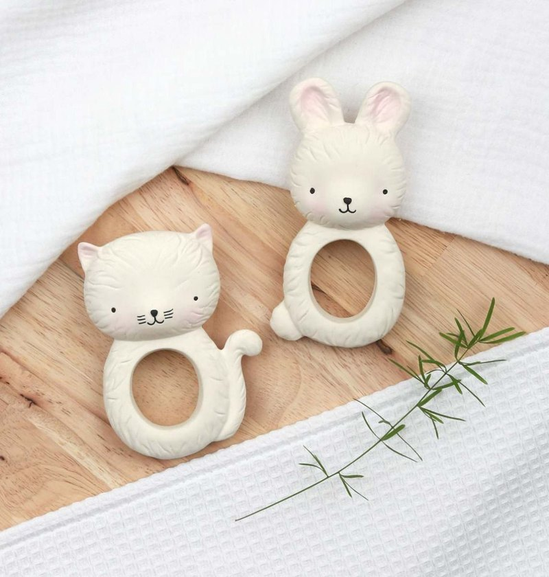Dutch a Little Lovely Company – healing white rabbit rubber solid tooth
