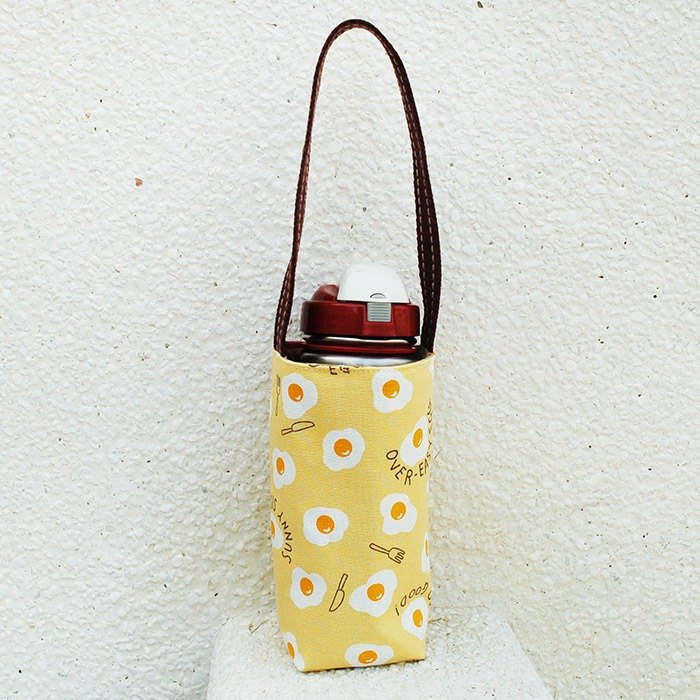 Delicious poached egg _ yellow kettle bag / set