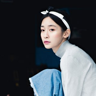 【The MAMA's Closet】Papillon (Black with White) / Classic Headband