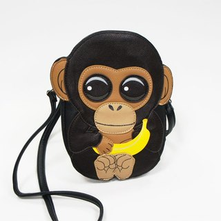 Sleepyville Critters - Baby Chimp Crossbody Bag