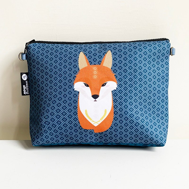 [Forest Animal Series] Q version of the fox casual light bag