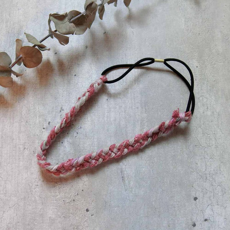 Autumn-Winter Limited Coral Braided Hair Band