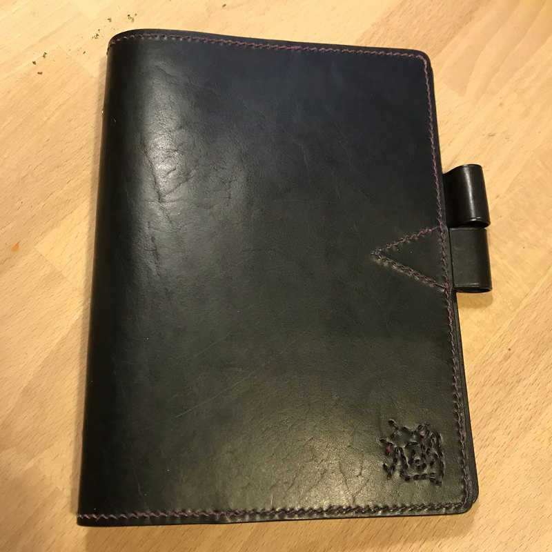 Hand-made 20-hole loose-leaf notebook free printing