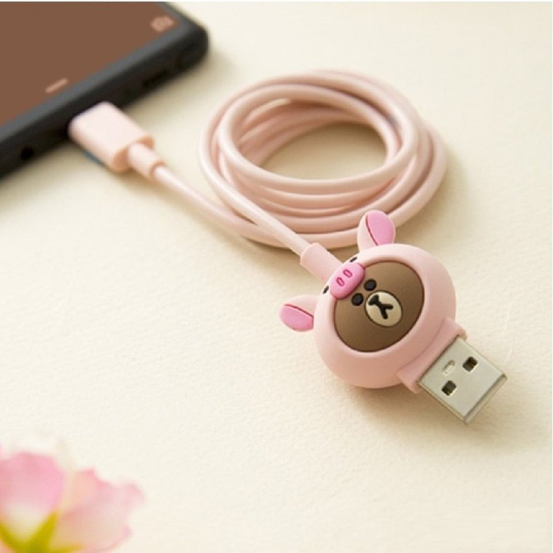KHVATEC-LINE FRIENDS Apple Mfi Data Charging Cable