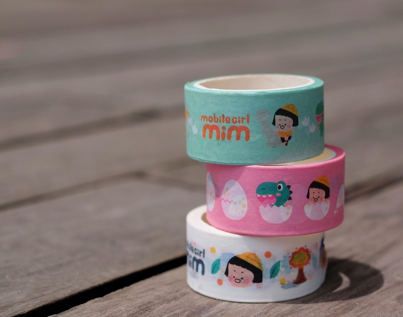 Mobile Girl Mim Plastic tape set (all 3)
