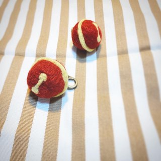 Cats & Dogs Pet Brand Name Tag Wool Felt Seven Dragon Ball Color Ring Bell Collar Rope Accessory