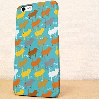 送料無料☆iPhone case GALAXY case ☆猫の行進 mew