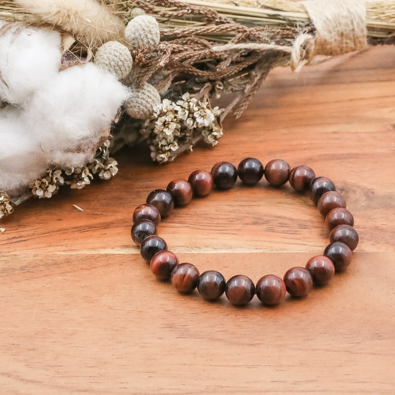 Red tiger eye stone | original stone bracelet natural stone bracelet full ore series