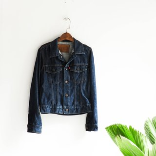 River Hill - edwin503 Sentimental young girls Letters in indigo denim pounds Jacket vintage antique neutral shirt oversize vintage denim