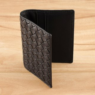STORYLEATHER Style 90710 woven card holder