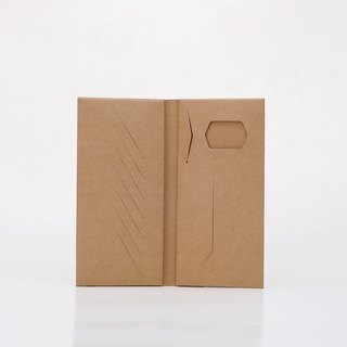 Paper bamboo Changle long wallet (brown)