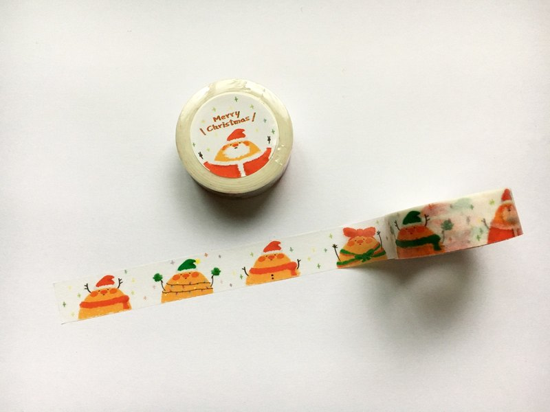 -ORANGERYs XMAS - and paper tape