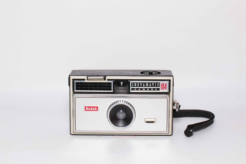 Kodak Instamatic 174 film camera made in Germany