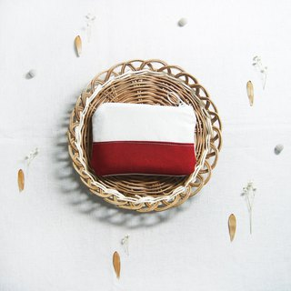 Small fresh coin purse - berry red