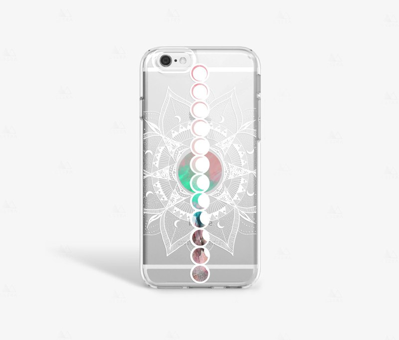 Moon Phase iPhone 7 Case Clear iPhone 8 Case Clear iPhone 7 Plus Clear Case