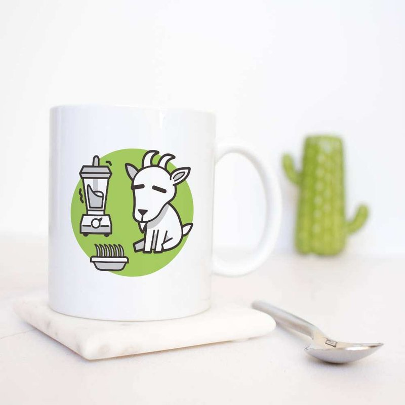 Lazy energy [sheep] 12 Zodiac mugs / customizable text