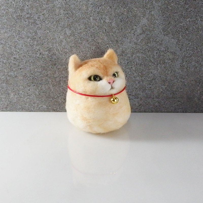 Orange cat pill [feiwa 霏 hand made] micro-custom doll (welcome to order your baby)