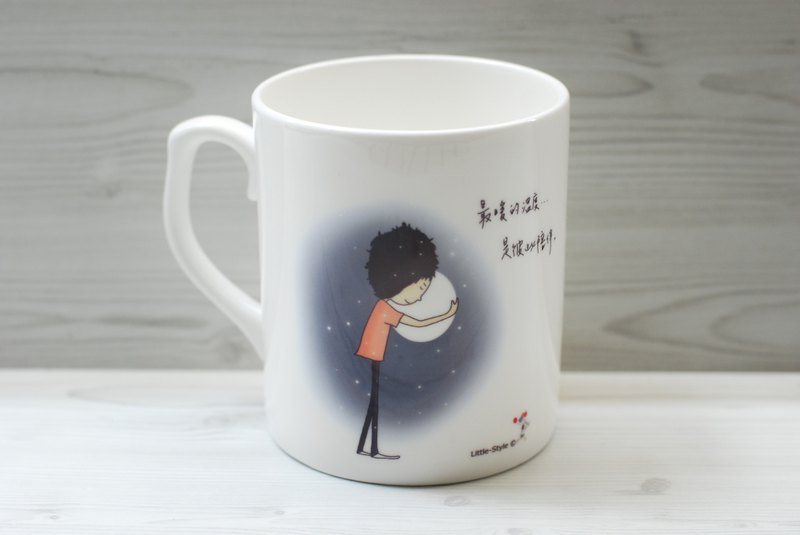 Bone China Mug - Warmest Temperature (Custom)