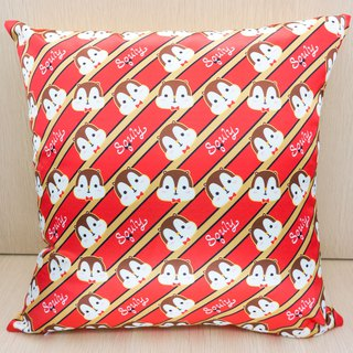 Squly Cushion (Squly logo pattern)