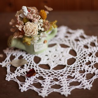 [Good Fetish] Germany vintage antique handmade crochet lace piece -007