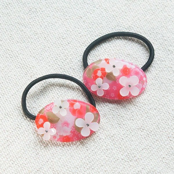 flower hairband-pink