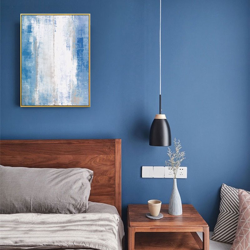 Blues - painting / bedroom painting / abstract painting / home / office / copy painting / simple / designer preferred