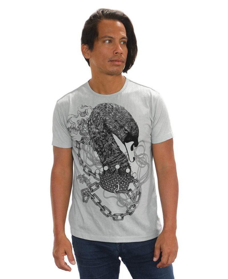 Black Swans Mens Top