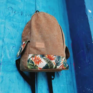 HARNS Canvas Vegan Backpack