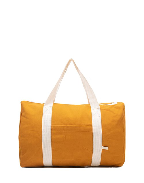 YELLOW MUSTARD DUFFLE BAG