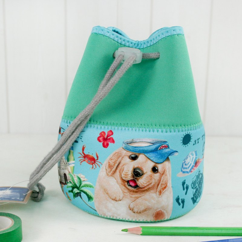 [Henry House Family] Diving Cloth Multi-Function Drawstring Bag - Denny Danny (FunTime)