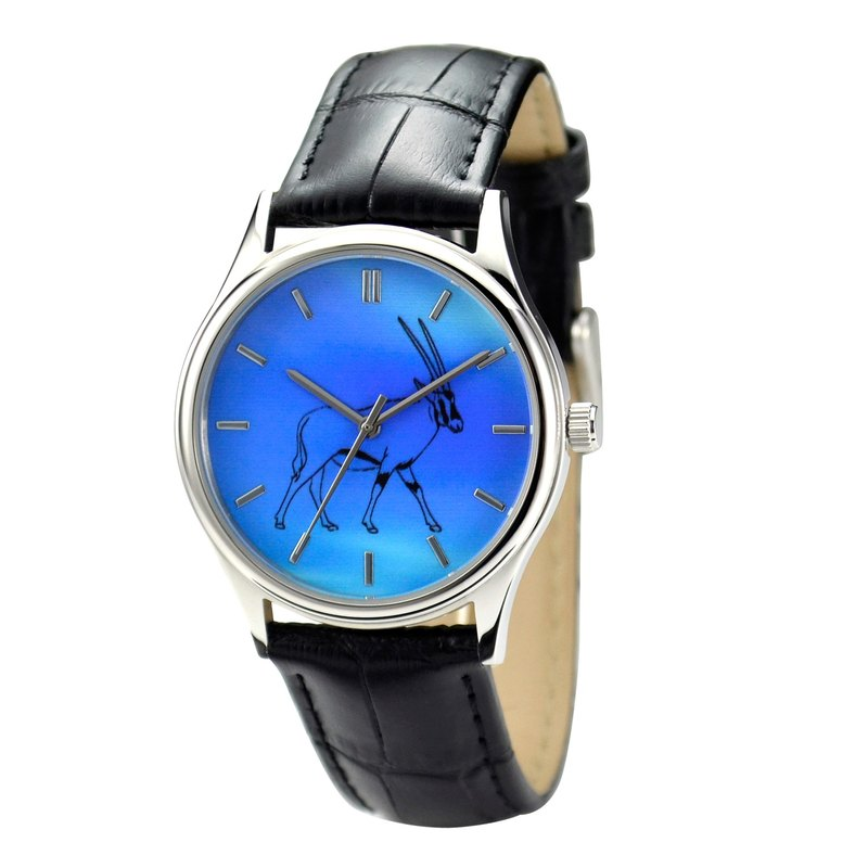 Oryx Graphic Watch Sky Blue Face- Unisex - Free Shipping Worldwide
