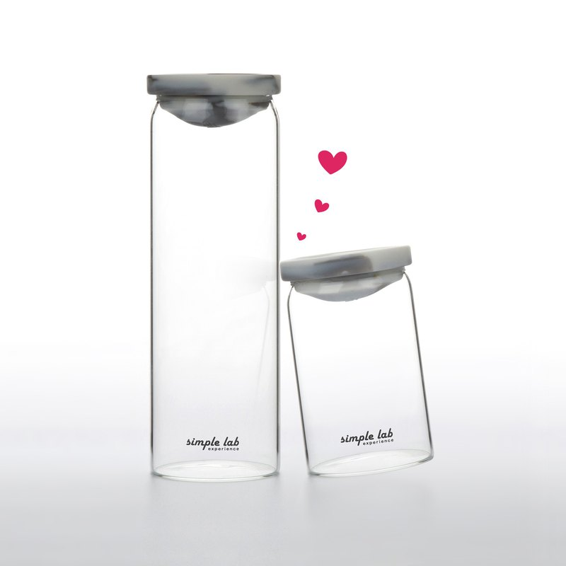 【Pre-order discount】RINBO leak-proof glass bottle with sleeve | combo set of 2