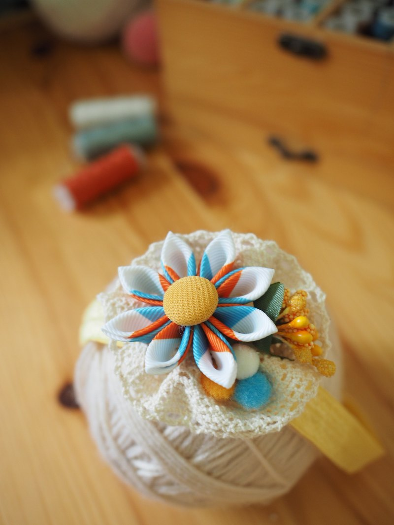 Handmade Elastic Baby/ Girl Headband Hair Accessories