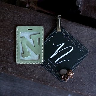 Alphabet Card Holder。Lanyard Version H-N