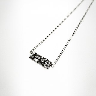 S Lee-925 Silver Handmade Fun Wood Series - Customized Letter Chain