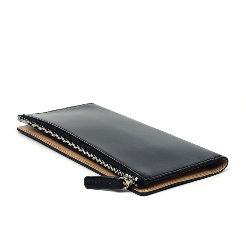 Long purse /Granite BLACK