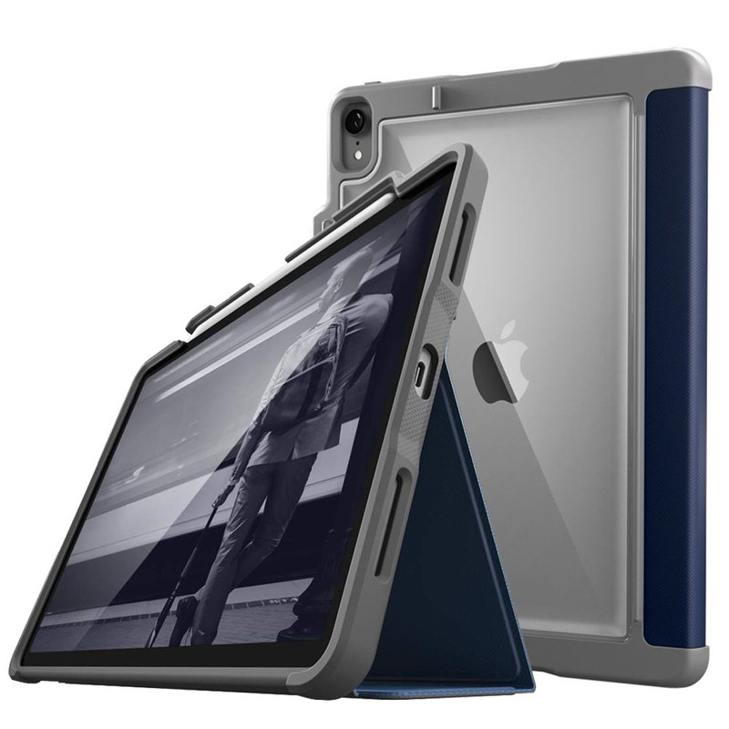 [STM] Dux Plus iPad Pro 11吋 Dedicated military standard shatter-resistant protective case (dark blue)