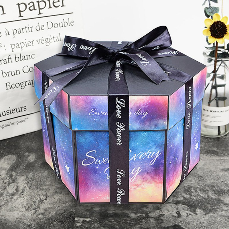 Explosive box, customized gift graduation gift Valentine's day gift Christmas gi