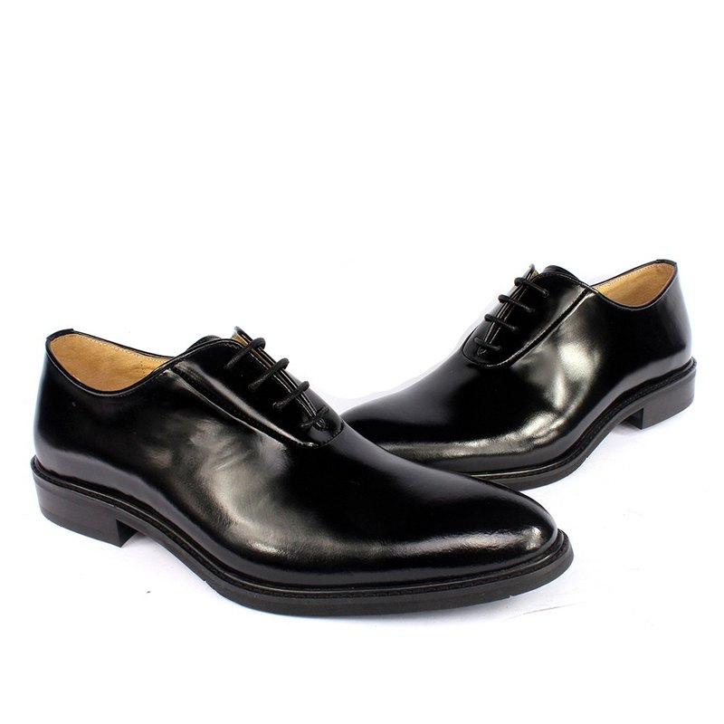 Sixlips British fashion elegant and simple Oxford shoes black