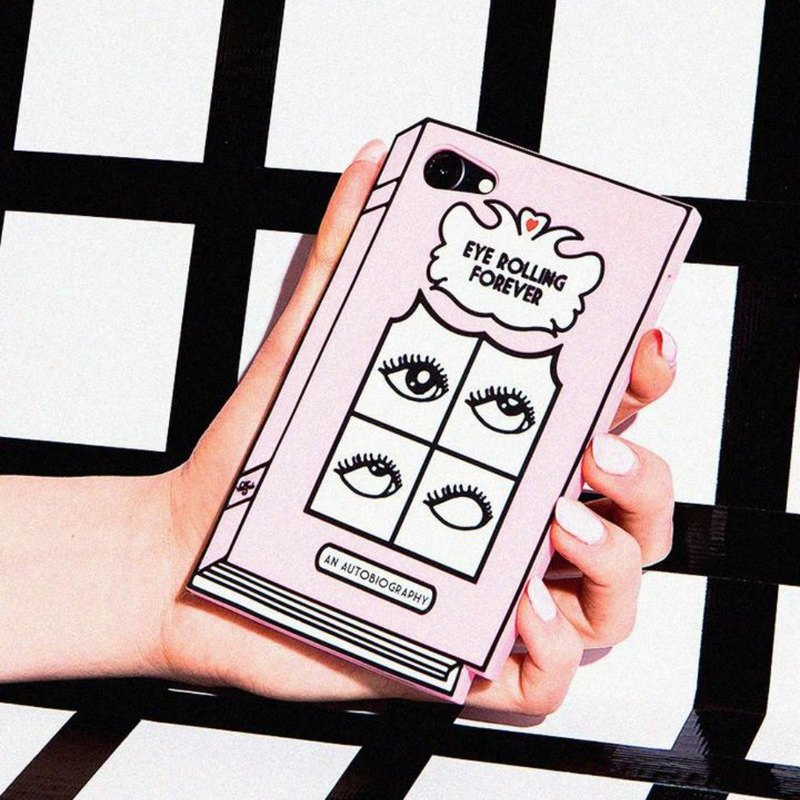 Valfre / Eye Rolling Forever 3D iPhone Case