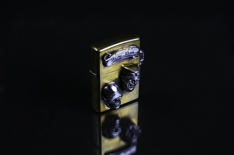 "Judge sterling silver ash blindfold zippo lighter ""regular zippo processing production"""