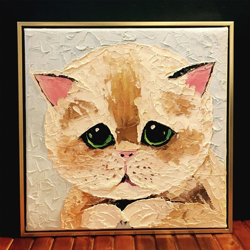 Custom pet portrait painting knife (Hankuang)