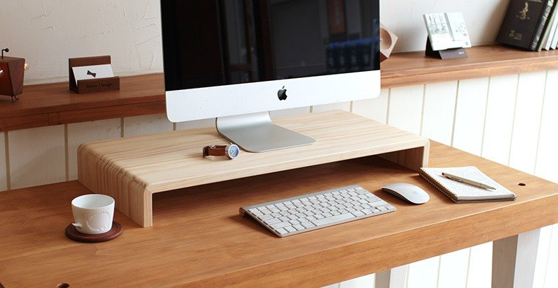 Pre-order - wide version - 原 type log screen / keyboard stand / small shelf (public version 2)