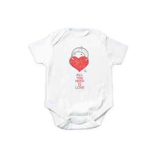 "Caterpillar │child short T │ package fart clothing - do not bear ""heart"", there I am (limited + pre-order)"