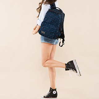 "SOLIS Polka Dots Series 13""REISE premium laptop backpack"