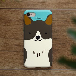 iphone case dark brown smiley dog for iphone5s,6s,6s plus, 7,7+, 8, 8+,iphone x