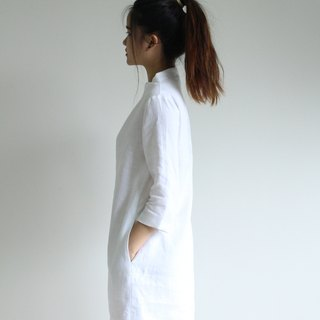 Made to order linen dress / linen clothing / long dress / casual dress E36D