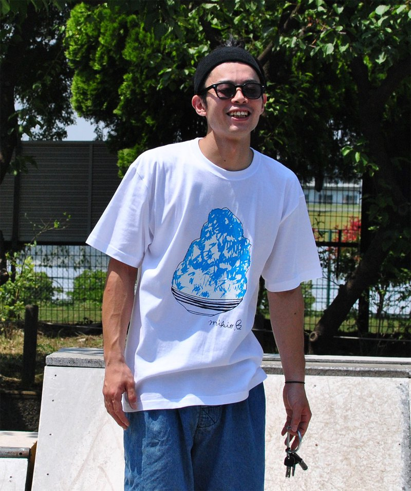 刨冰 Kakigori Shaved ice Men's t-shirt Blue Hawaii S M L XL 2XL 3XL